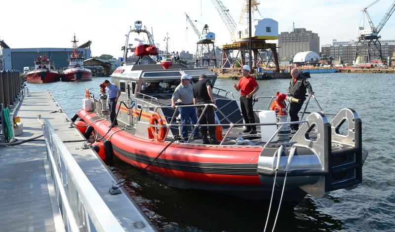Aaa Participates In Foam Tests With New Fdny Fire Boats
