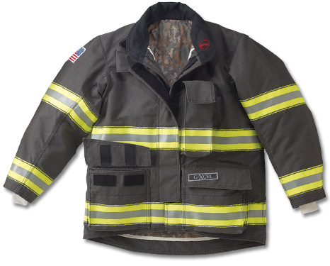 SIAU Structural Firefighting Bunker Gear Gxcel-jacket-1